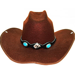 Leder Hutbänder