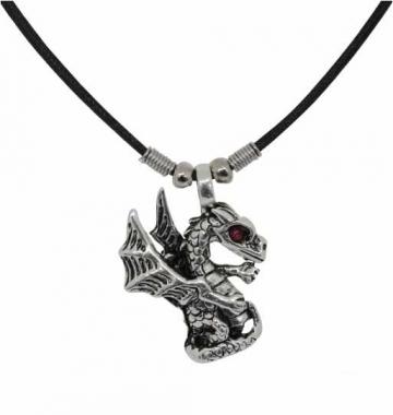 Drachenschmuck Halskette - Drachenflügel