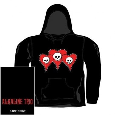 Official Band Hoodie - Alkaline Trio - Logo