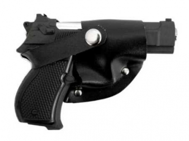 Gürtelschnalle mit integriertem Feuerzeug - Pistolengürtelschnalle 9mm