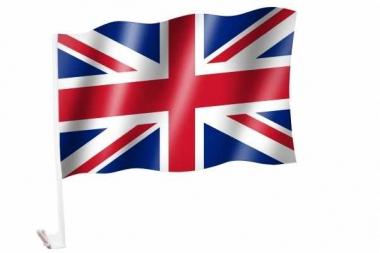 Autofahnen Vereinigtes Königreich