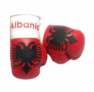 Albanien Mini Boxhandschuhe