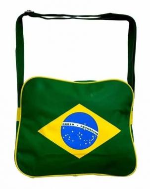 College Schultertasche Brasilien