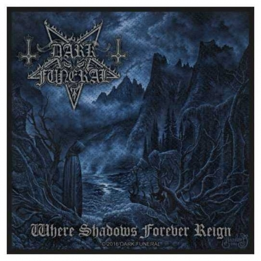 Aufnäher Dark Funeral Where Shadows Forever Reign