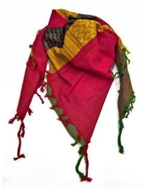 Palästinensertuch Gelb Rot Braun