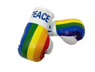 Peace Mini Boxhandschuhe