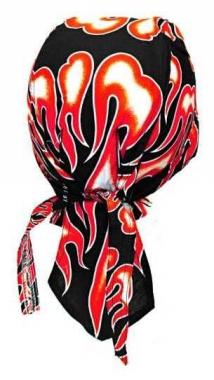 Bandana Kopftuch Feuer Rot