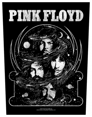 Rückenaufnäher Pink Floyd Cosmic Faces
