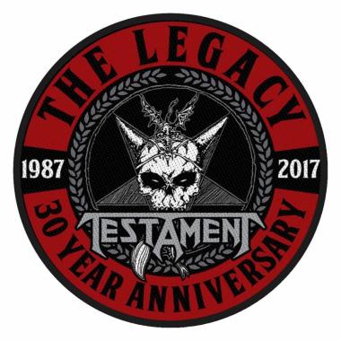 Aufnäher Testament The Leagcy 30 Year Anniversary