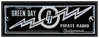 Aufnäher Green Day Pirate Radio Patch