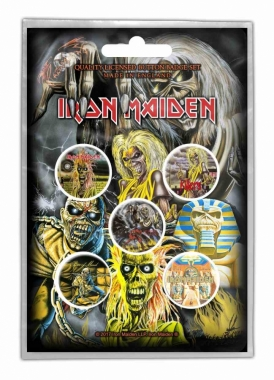 Button Pack - Iron Maiden Early Albums