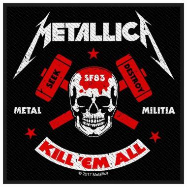 Aufnäher Metallica Metal Militia