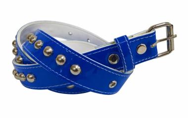 Gürtel Rundnieten Blau