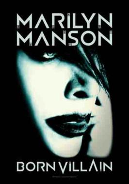 Posterfahne Marilyn Manson Born Villain