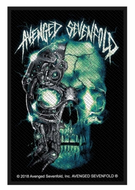 Avenged Sevenfold Aufnäher Biomechanical