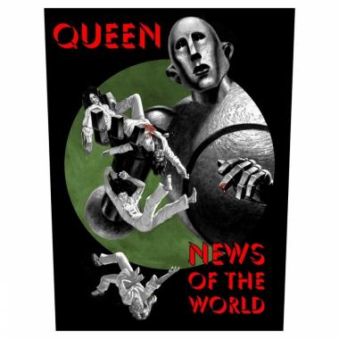 Queen Rückenaufnäher News of the World