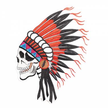 Aufnäher - Indianerschädel
