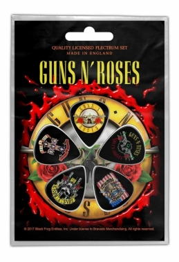 Plektrum Pack Guns N Roses Bullett Logo
