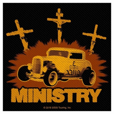 Ministry Aufnäher Jesus built my Hotrod