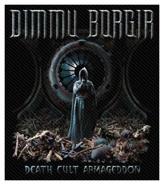 Dimmu Borgir Aufnäher Death Cult Armageddon