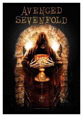 Posterfahne Avenged Sevenfold Golden Arch Tapestry