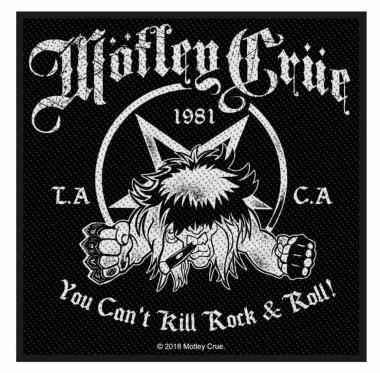 Mötley Crüe Aufnäher You cant kill Rock n Roll
