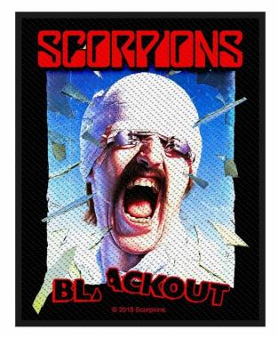 Aufnäher Scorpions - Blackout