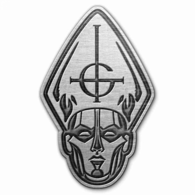 Ghost Anstecker Papa Head