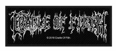 Cradle of Filth Aufnäher Logo
