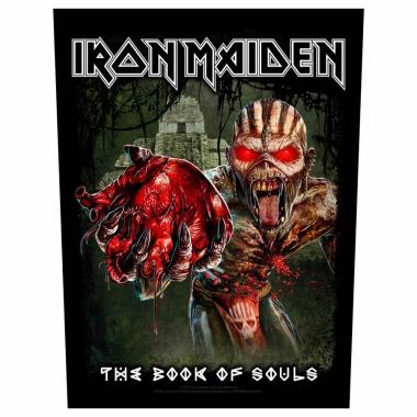 Iron Maiden Rückenaufnäher Eddies Heart