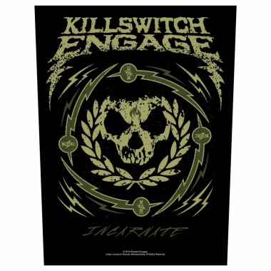 Killswitch Engage Rückenaufnäher Skull Wreath