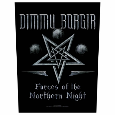 Dimmu Borgir Rückenaufnäher Forces of the northern night
