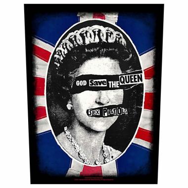 Sex Pistols Rückenaufnäher God save the queen