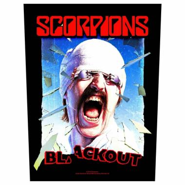 Scorpions Rückenaufnäher Blackout