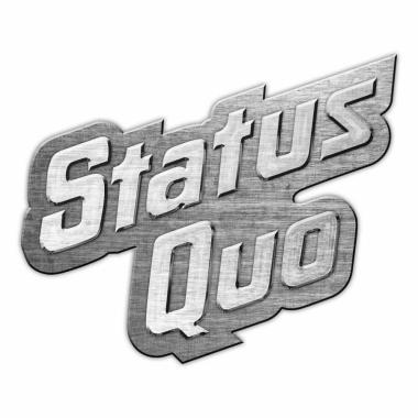 Status Quo Logo Anstecker