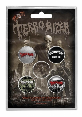 Terrorizer Button Pack Caustic Attack