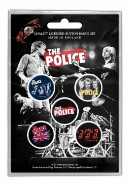 The Police Button Pack - Various
