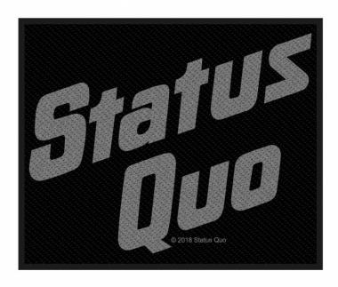 Status Quo Logo Aufnäher