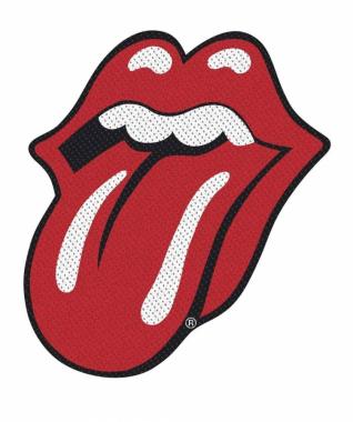 Rolling Stones Aufnäher Tongue