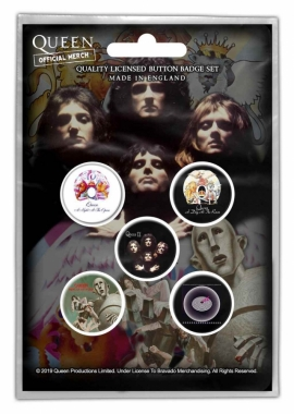 Button Pack - Queen - Early Albums