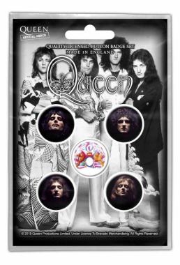 Button Pack - Queen - Faces