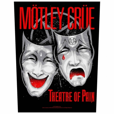 Rückenaufnäher Mötley Crüe - Theatre of pain