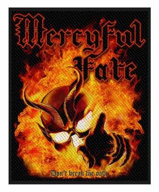 Mercyful Fate Aufnäher Dont Break The Oath