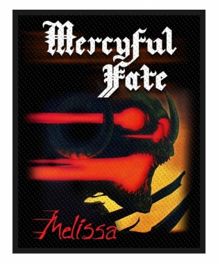 Mercyful Fate Aufnäher Melissa