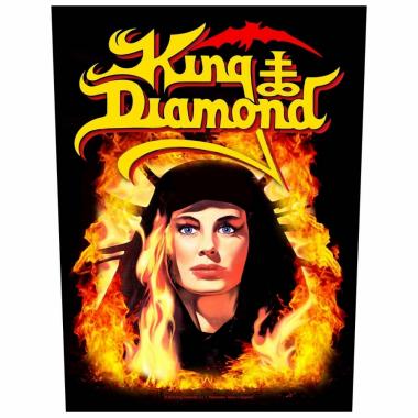 King Diamond Rückenaufnäher Fatal Portrait