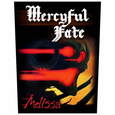 Mercyful Fate Rückenaufnäher Melissa