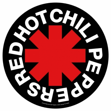 Red Hot Chili Peppers Rückenaufnäher Asterisk