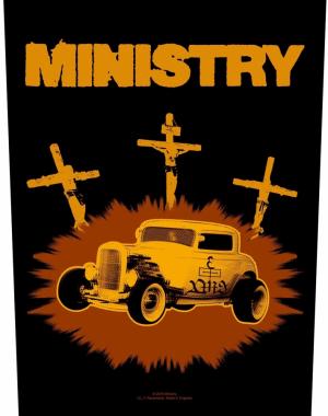 Ministry Rückenaufnäher Jesus Built My Hotrod