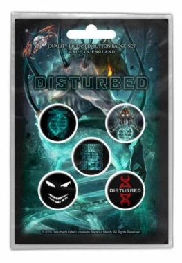 Button Pack - Disturbed Evolution