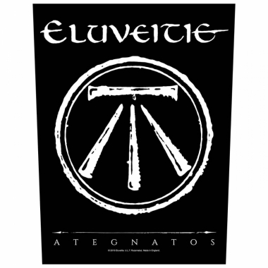 Eluveitie Rückenaufnäher Ategnatos
